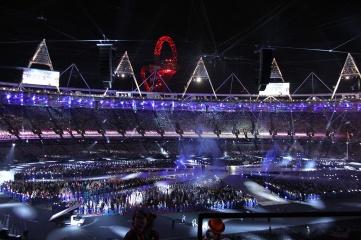 Closing ceremony of the London 2012 Olympic Games (Photo: Wikipedia, Sarah & Austin Houghton-Bird)