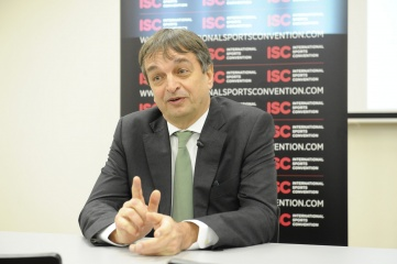 Jerome Champagne announced his candidacy in September 2014, shortly after incumbent president Sepp Blatter announced his candidacy (Photo: ISC Geneva)