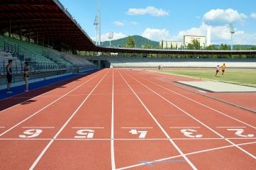 "1The Stadio dei Pini ""Tonino Siddi"" in Sassari on Sardinia was re-topped by Polytan earlier in the year (Photo Credit: Ben Wiesenfarth / Polytan GmbH)"