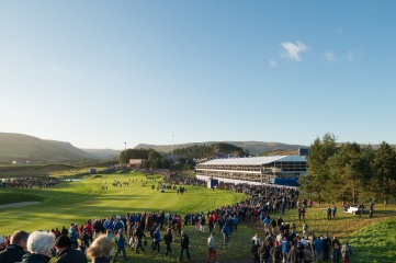 De Boer Structures at the Ryder Cup in Gleneagles, Scotland