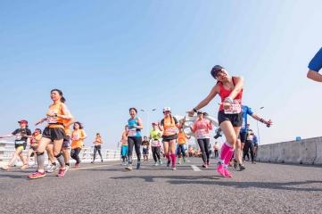 The 2017 Shanghai international Half Marathon