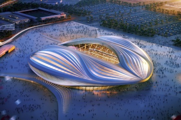 Al Wakrah will certainly host matches as its stadium is already under construction