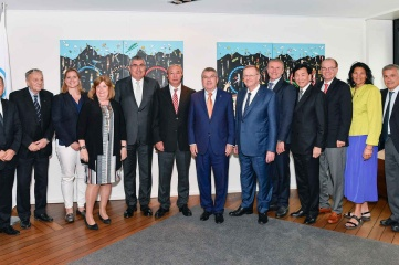 The IOC Executive Board met in Lausanne (Photo: IOC/CHRISTOPHE MORATAL)