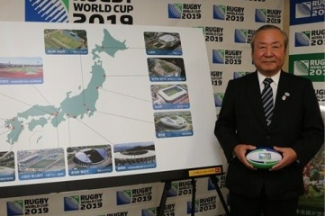 Akira Shimazu, CEO of Japan Rugby 2019