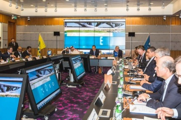 The task force will reconvene to finalize the international match calendar for 2018-2024, after the FIFA ExCo has confirmed the exact dates of the World Cup  (Photo copyright: LOC)