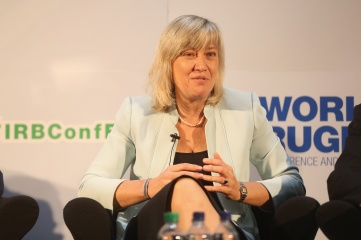 Debbie Jevans was CEO of England Rugby 2015, the World Cup organising committee