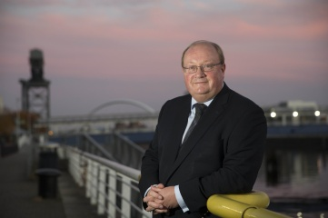 Paul Bush OBE, VisitScotland's Director of Events