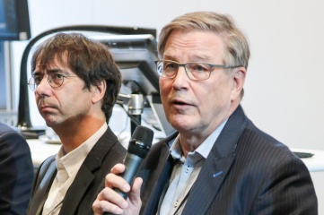 Risto Nieminen (right), Member of IOC Coordination Commission for Beijing 2022, speaking at Host City 2016 alongside Ignacio Packer, CEO of Terre Des Hommes (left) (Photo: Host City)