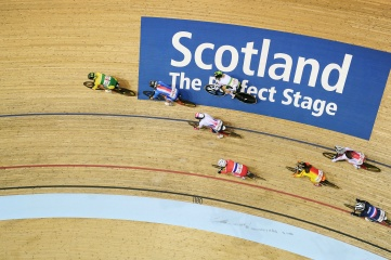 Glasgow is hosting the Tissot UCI Track Cycling World Cup from 8-10 November 2019 (Photo: Simon Wilkinson)