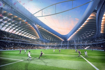 Al Wakrah is the only new stadium so far under construction