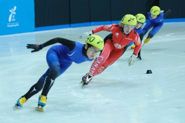 Speed skating at the 2013 Special Olympics World Winter Games in PyeongChang, South Korea
