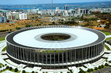 The platinum LEED-rated Estádio Nacional in Brasilia is one of the most expensive stadium construction projects of all time