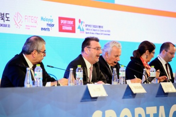 Host City discussed the report with ASOIF leaders at their General Assembly in Bangkok in 2018