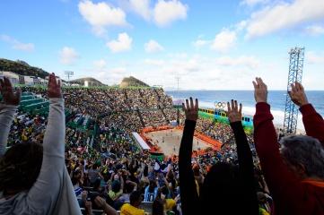 Beach Volleyball at Rio 2016 (Photo: FIVB)