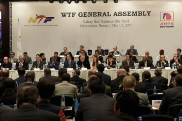 The World Taekwondo Federation's general assembly took place in Chelyabinsk, Russia
