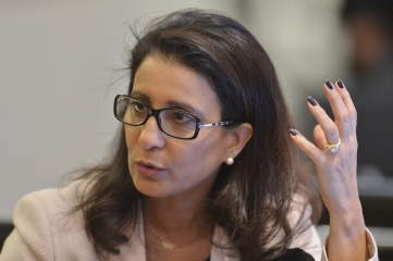 Nawal El Moutawakel, chair of the IOC coordination commission that visited Rio this week (Photo: IOC)