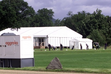 Aggreko provides power and temperature control for major events from golf tournaments to the 2012 Olympic Games