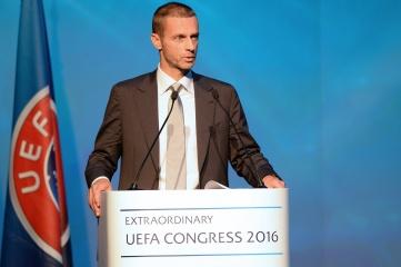 UEFA president Aleksander Čeferin.