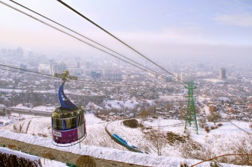 Almaty is bidding against Beijing for the 2022 Olympic Games