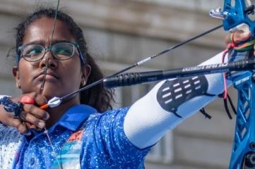 Indian youth world champion Komalika Bari (Photo: World Archery)