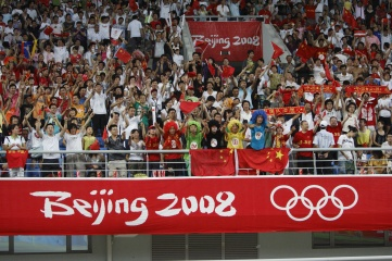 Norman Liu was in the marketing department of Beijing 2008 Olympic Games Organising Committee, which attracted large crowds to football
