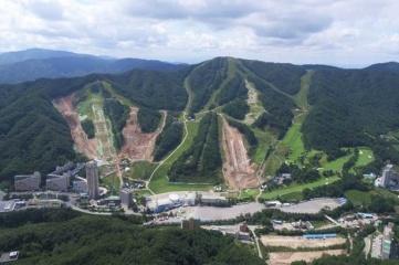 Bokwang Snow Park (Photo: PyeongChang 2018, taken 26 September 2016)