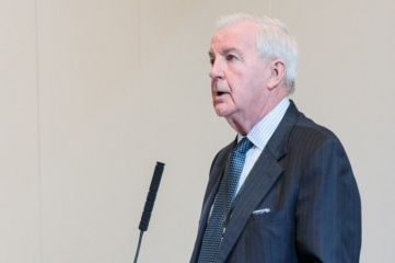 Sir Craig Reedie CBE speaking at Host City 2016, the foremost meeting of cities and sports, business and cultural events