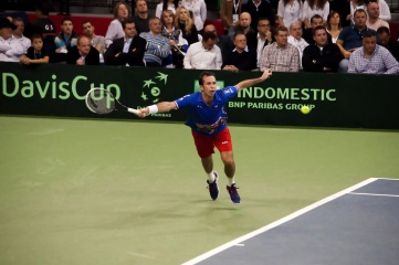 Belgrade hosted the 2015 Davis Cup final between Novak Djokovic of Serbia and Radek Stepanek of Czech Republic