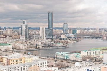 Ekaterinburg is Russia's fourth-largest city