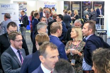 Delegates mingling at Host City 2018 (Photo: Host City)