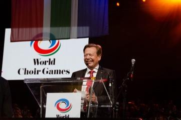 Günter Titsch, founder and president of INTERKULTUR (Photo copyright: INTERKULTUR)