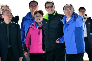 The IOC Evaluation Commission visiting Zhangjiakou (Photo: Beijing 2022)
