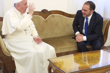 Pope Francis and Prince Ali share a passion for football and its potential to connect cultures