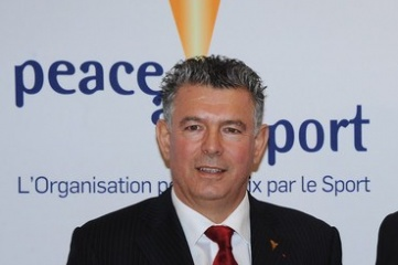 Joël Bouzou, President of World Olympians Association and President and founder of Peace and Sport (Photo: UIPM)