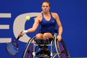 Paralympic wheelchair tennis medallist Jordanne Whiley MBE