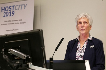 Dame Louise Martin DBE, President, Commonwealth Games Federation