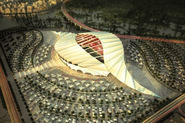 Work needs to begin in earnest on several Qatar World Cup stadiums, such as Al Khor