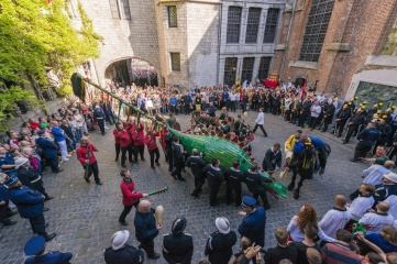 The Belgian town of Mons is a 2015 European Capital of Culture. The Ducasse de Mons celebrations are recognised as one of the UNESCO Masterpieces of the Oral and Intangible Heritage of Humanity (Photo: Anibal Trejo / Shutterstock)