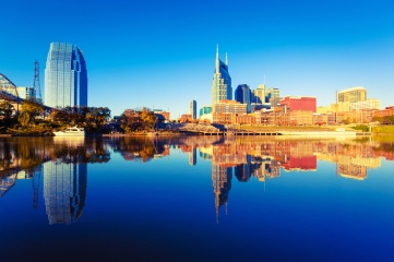 Nashville Skyline: hosting IBTM will build the city's reputation for hosting business events