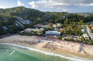 Noosa Triathlon and Multisport Festival is the world's largest Olympic distance triathlon (Photo: Tourism and Events Queensland)