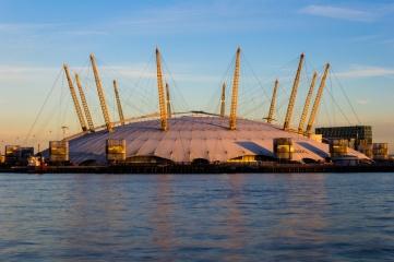 The O2 Arena hosts the ATP World Tour Finals