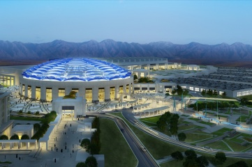 The Oman Convention & Exhibition Centre in Muscat