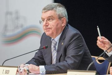 IOC President Thomas Bach at the Executive Board meeting (Picture ©IOC/Ian Jones)