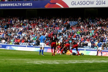 Rugby Sevens at Ibrox Stadium during the Commonwealth Games broke attendance records (PHOTO: HOST CITY)