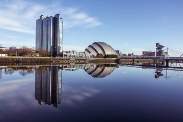 Glasgow's SEC is hosting COP26 in November 2020 (Photo: TreasureGalore / Shutterstock.com)