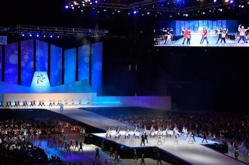 Sapporo 2017 opening ceremony (Image: SAWGOC / Photo Kishmoto)