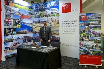 Scott Jameson, GL events UK managing director