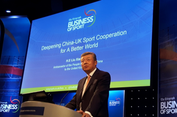 Liu Xiaoming, the ambassador of the People's Republic of China to the UK