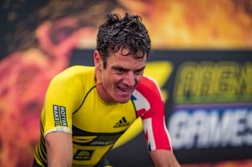 British Olympic medal hopeful Jonathan Brownlee is confirmed to participate in the hybrid event  (Photo: Super League Triathlon_)