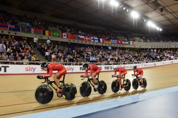 Lee Valley VeloPark hosted the 2016 UCI Track Cycling World Championships (Photo: Simon Wilkinson)